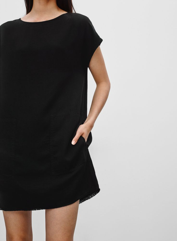Wilfred Free NORI DRESS | Aritzia | black sz sm