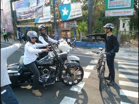 Penghadangan Pengendara Harley Davidson Club Indonesia di Jogjakarta