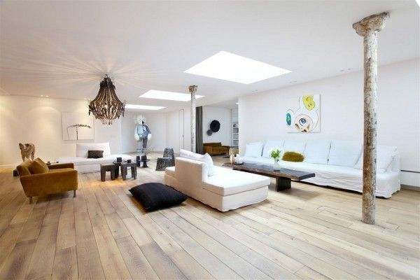 White Sun Roof Living... Interesantes propuestas de Interiorismo. Chéquenlas chicos!