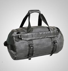 The intrepid traveller Odyssey Duffle - converts to a backpack when needed. Awesome!