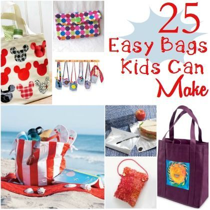25 Fun and Easy Bags Kids Can Make  http://spoonful.com/crafts/25-bags-kids-can-make#carousel-id=photo-carousel=25