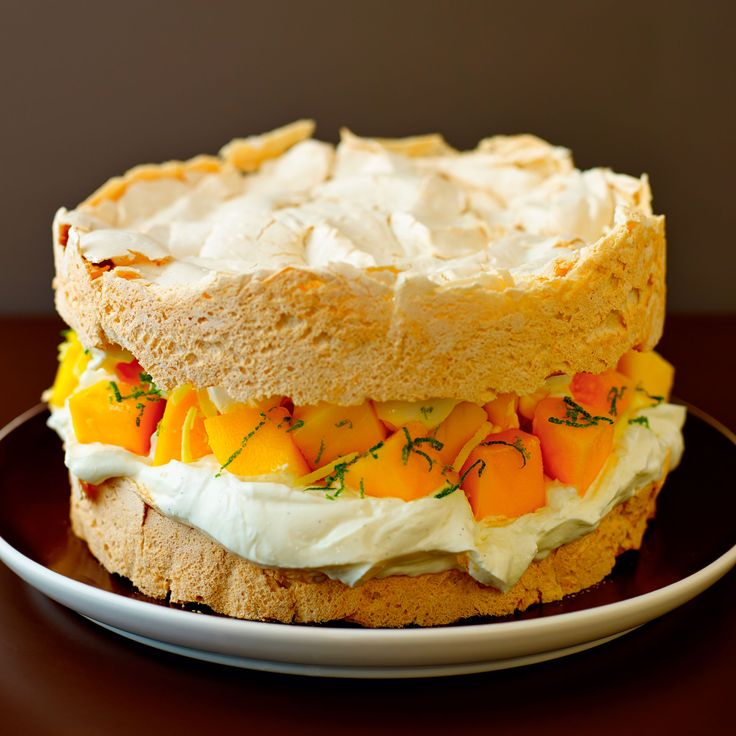 A meringue sponge with less sugar but all the tasty goodness! Taken from Lorraine Pascale's, A Lighter Way to Bake.