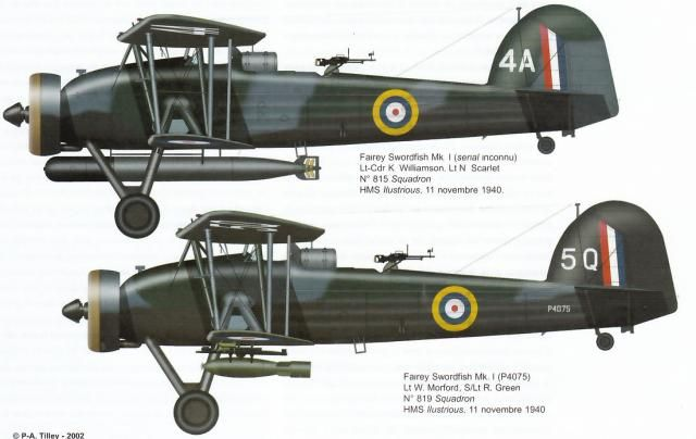 "Fairey Swordfish - Taranto Raid ""Dude, it's hard not to be impressed by these things. They took out 3 capital ships at Taranto, restricting many Italian ships to port, wounded the Bismark and took out submarines. Incredible"" KB"