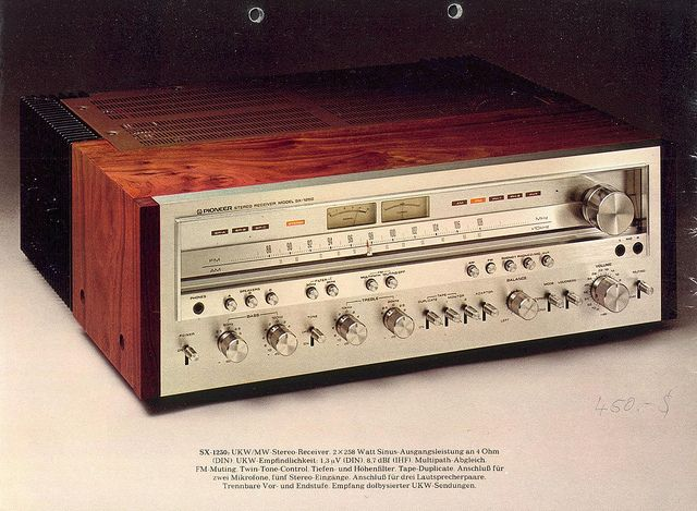 Had it and it sounded better than anything out here today..even BOSE!Vintage Pioneer SX-1250 receiver
