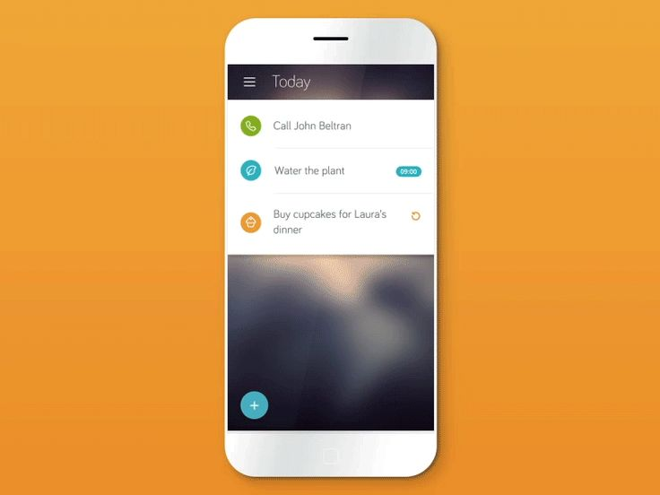 Task app concept animation #UImotion