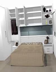 Resultado de imagen para guarda roupa com camas embutidas de casal