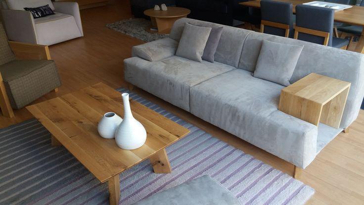 #sofa nabuco #coffeetable#solidwood