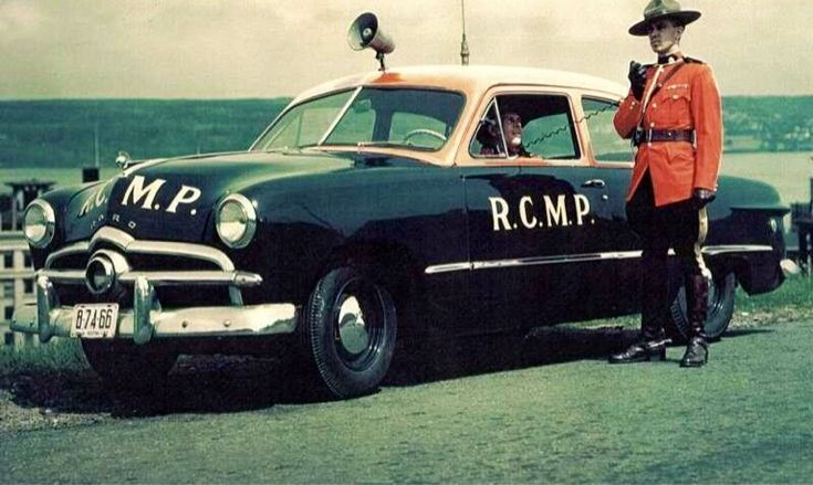 1948 Ford, Royal Canadian Mounted Police...