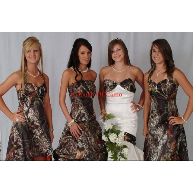 Camo wedding dresses under 100