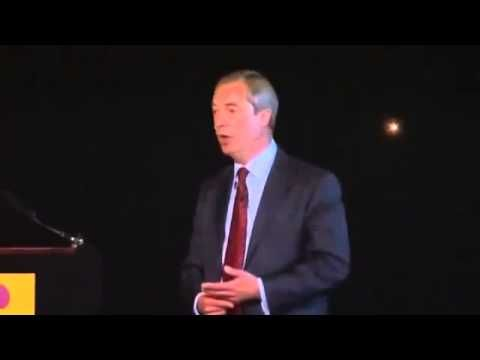 UKIP  Nigel Farage   Sums Up The UAF