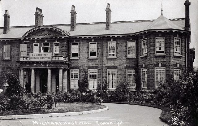 Edmonton Military Hospital, now North Middlesex Hospital | Flickr - Photo Sharing!