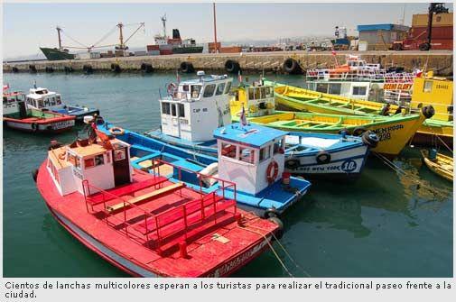 Visita al puerto de Valparaíso
