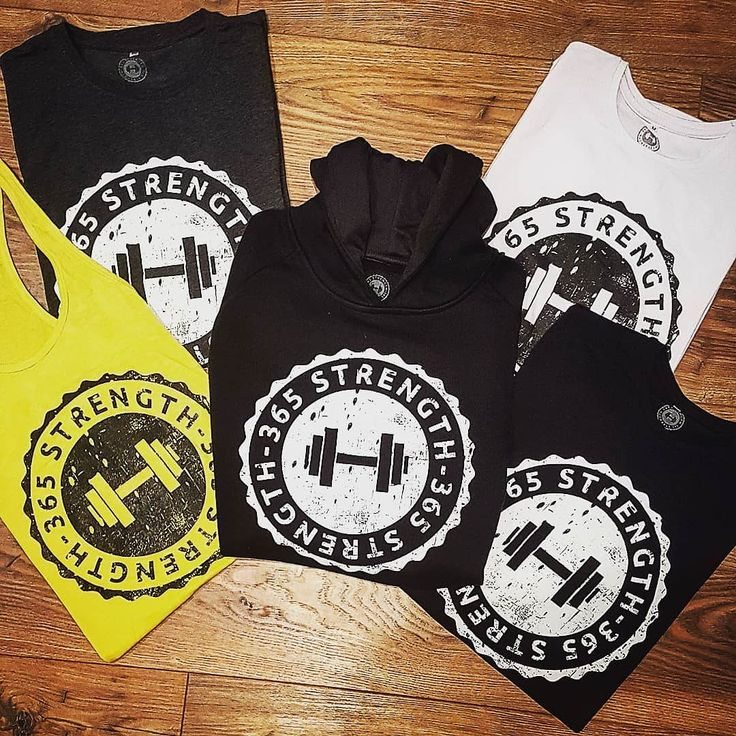 365 Strength Men's Gym Wear  Muscle Fit T-shirts in Black Gun Metal Grey White.  Stringer Vests in Black White Grey & Yellow.  Tailored Fit Hoodies in Black.  Ladies Gym Wear dropping in January along with online store.  DM for details on Men's Wear  #bodybuilding #gymapparel #365strength #buildingabrand #fitness #gymlife #gymclothing #menswear #musclefit #tshirts #hoodies #stringervest #pumpingiron #christmaspresents #stockingfillers #whentrainingislife