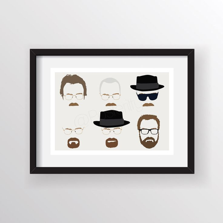 Breaking Bad Minimal Walter Heads by Posteritty
