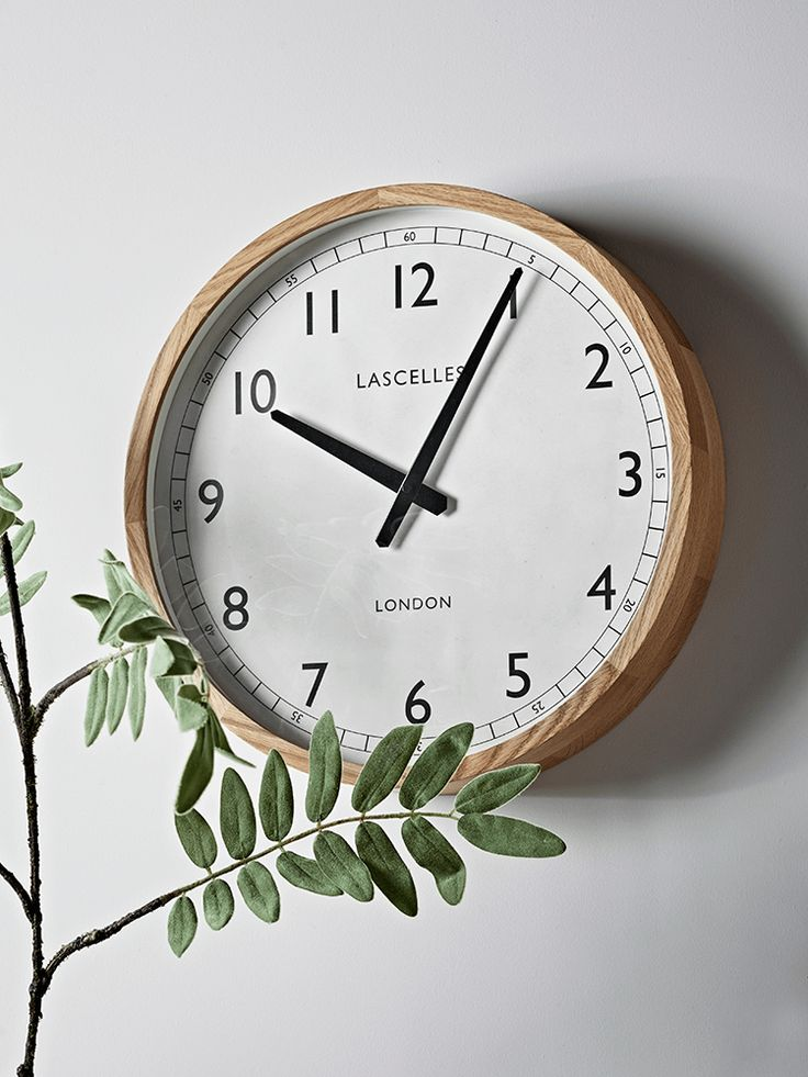 NEW Oak Frame Clock