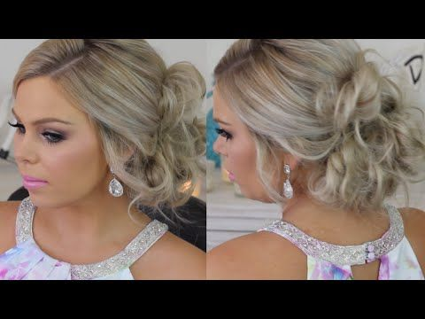 how to make hair styles for short hair 20 lovely side bun hairstyles for buns bun 7262 | 1423afade3bd9c2b7262d5b234440e0c
