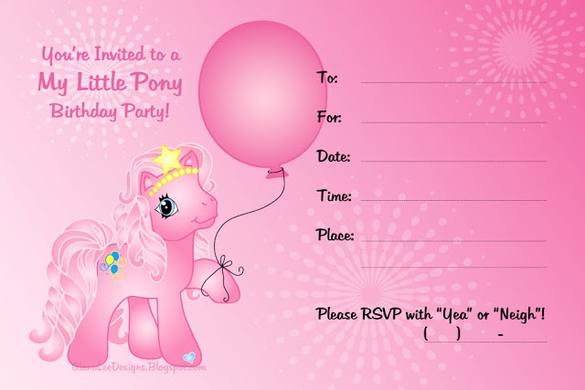 Free my little pony invitations printables kaias birthday ideas free my little pony invitations printables kaias birthday ideas pinterest pony pony party and birthdays filmwisefo Image collections