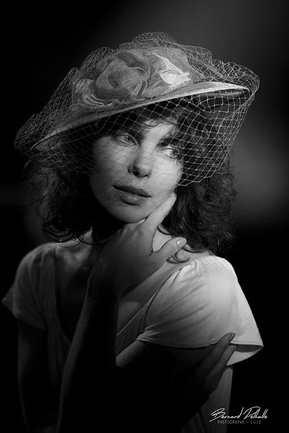 Portrait Lumière Cinéma Bernard Delhalle Photographe Lille