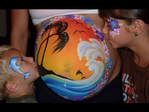 980 best images about belly painting on pinterest paint
