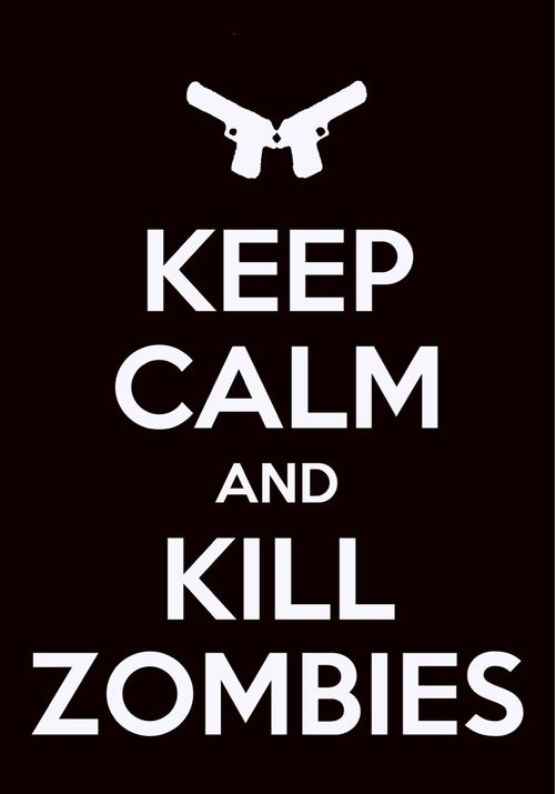 How am I supposed to keep calm?!