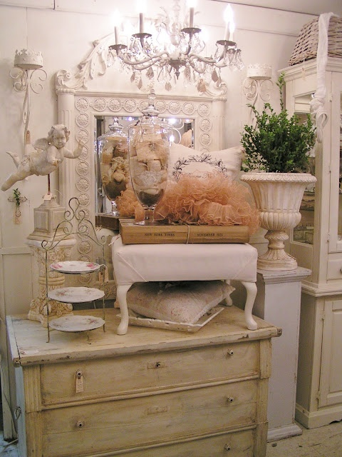 Blossoms Vintage ChicBooths Inspiration, Booths Display, Vintage Chic, Country Roads, Shabby Chic, Vintage Booths, Fleas Marketing, Display Ideas, Blossoms Vintage