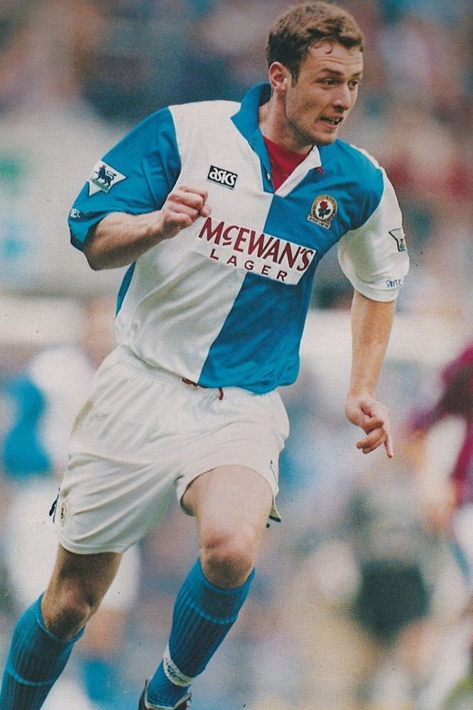 Football Photo CHRIS SUTTON Blackburn Rovers 1994-95