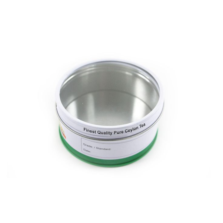 The screw on lid and body best lock the tins, keep the lid and body well fixed. The ourward curl bottom of the Christmas Round Chocolate Tin enable the tin with a adjustable