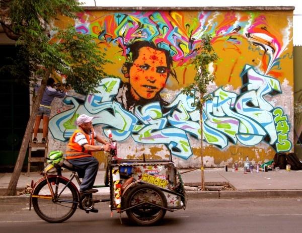 street art chile mural stinkfish 4