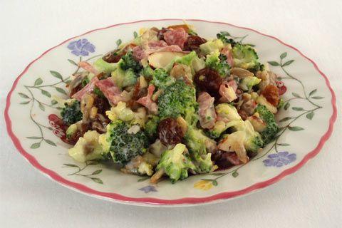 Broccoli Salad   Rainbow Cooking