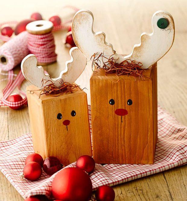Schmucke Holzwürfel