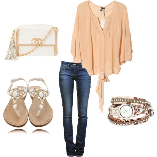 : Chanel Bags, Style, Shirts, Soft Colors, Cute Outfits, Jeans, Summer Outfits, Summer Night, Spring Outfits