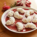 Pecan Sandies Recipe | MyRecipes.com   I had forgotten about these cookies. My Mom would make these every Christmas.  They are delicious.