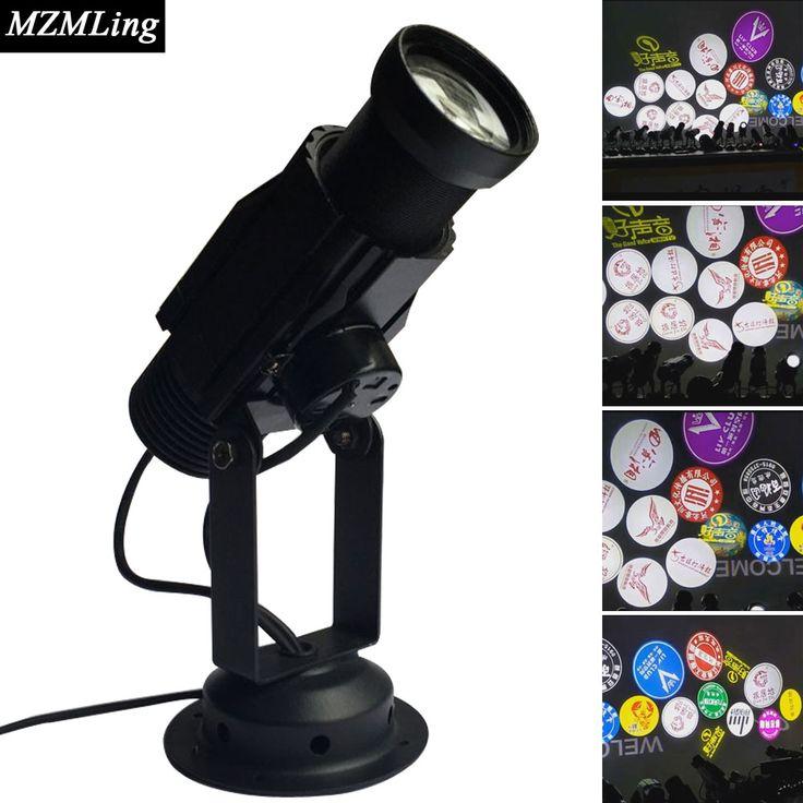20w Led Logo Light Projection Lamp Stage Light DJ/Fest/Home / Bar /Stage /Party Light Led Stage Machine Led Light