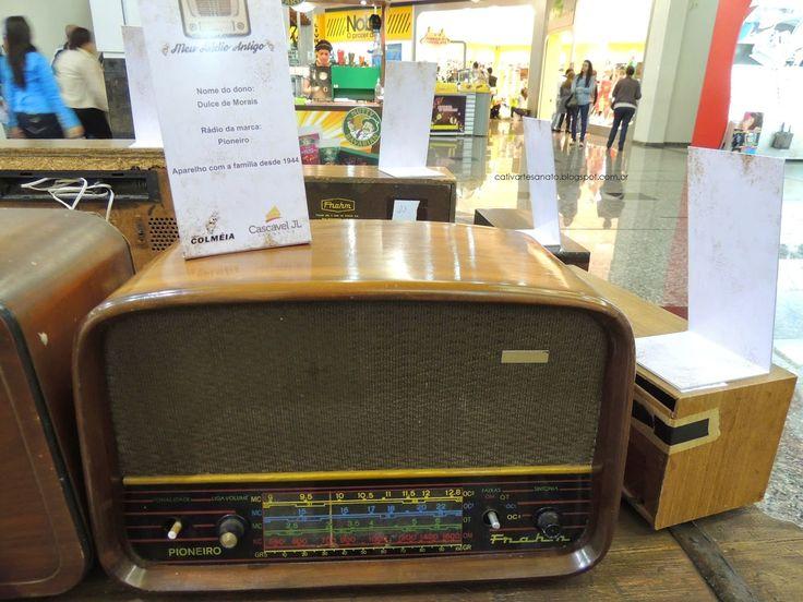 cativa artesanato: Rádios antigos