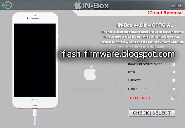 iphone Icloud Lock Remove Any IOS Unlock Tool iN-Box V4 8 0 100
