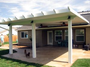 Sunset Patio Awning Fresno California Extras For Our