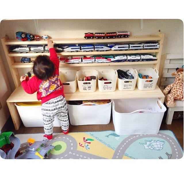 教えて!ママたち おもちゃがかたづく収納のDIY術10選