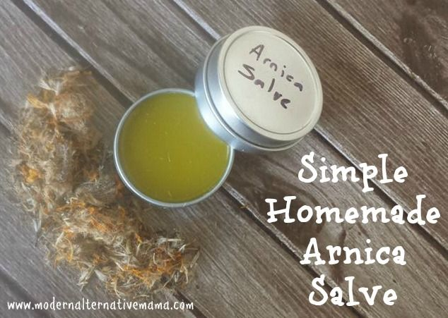 frugally sustainable arnica salve for cracked