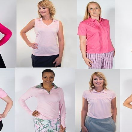 Our clothing not only fits but also looks great on every body type #golf #womensgolf #golffashion #pink #lifestlyle #plussizefashion #plusisequal