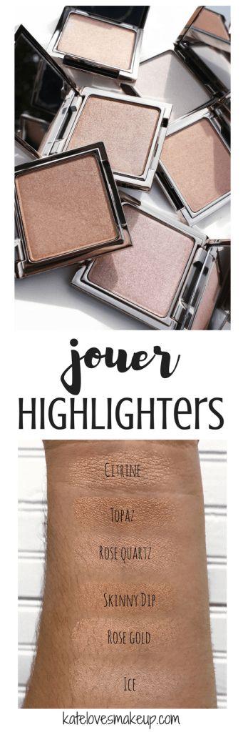JOUER HIGHLIGHTER HOLIDAY SETS | Kate Loves Makeup