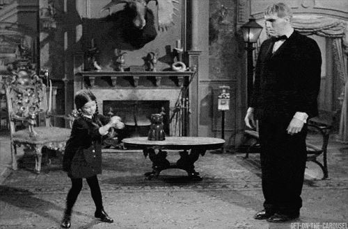 I think I dance like Wednesday, but actually dance like Lurch.