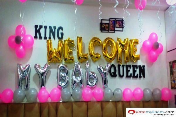 1000 Newborn Baby Decoration Ideas You Must Consider Welcome Home Baby Welcome Home Decorations Girl Decor
