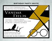 Check out this awesome Harry Potter birthday invitation I made for simple and affordable printing. You can print this at home, upload it to an online printing service or take the file to any printing shop. What makes this design so cost efficient is that it is already created and