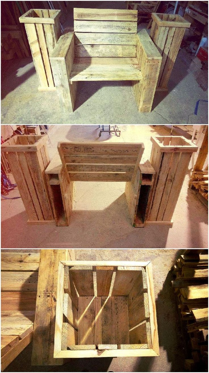 Diy comfortable pallet adirondack chair 101 pallets - 259 Best Pallets Images On Pinterest Pallet Wood Pallet Ideas And Pallet Furniture