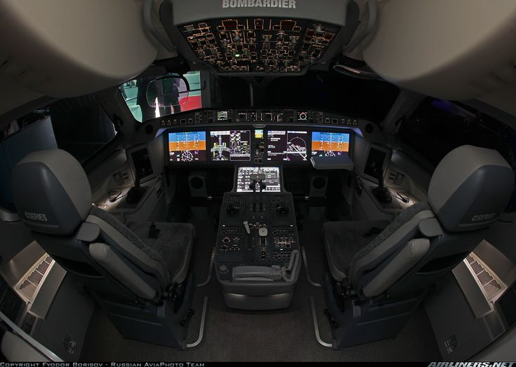 Real scale Playstation sim or the new CSeries Bombardier jet :)
