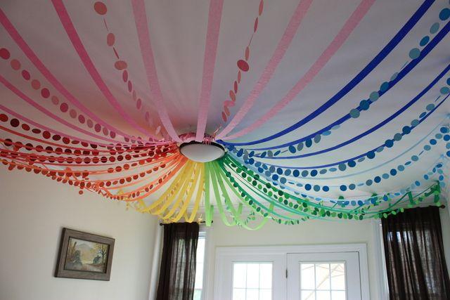 Decorations at a Yo Gabba Gabba Party #yogabbagabba #partydecor