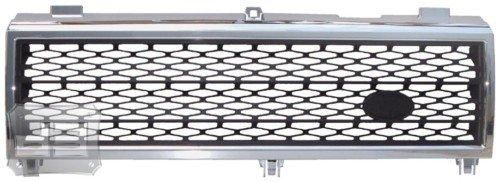 Land Rover Range Rover HSE Chrome w/ Black Mesh Replacement Grill Grille (Fits: 2003-2005 models) Fits 2003-2005 full size Range Rovers (Will not fit Sports model). This grill completely replaces the factory grill.. Installation is easy and only takes about 10 minutes to complete. Triple chrome plated for a long lasting perfect mirror finish. This will add luxury and style to your new Ranger Rover... #Seamless_Auto #Single_Detail_Page_Misc