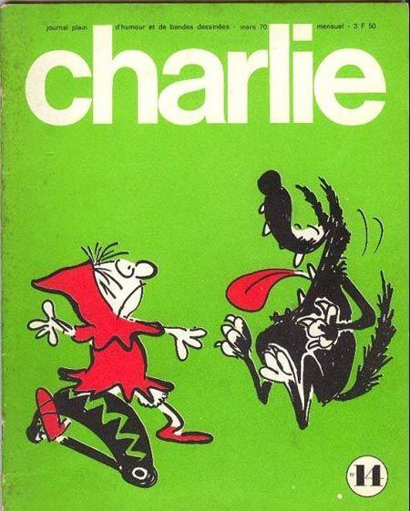 Charlie Mensuel - # 14 - Mars 1970 - Couverture de Reiser