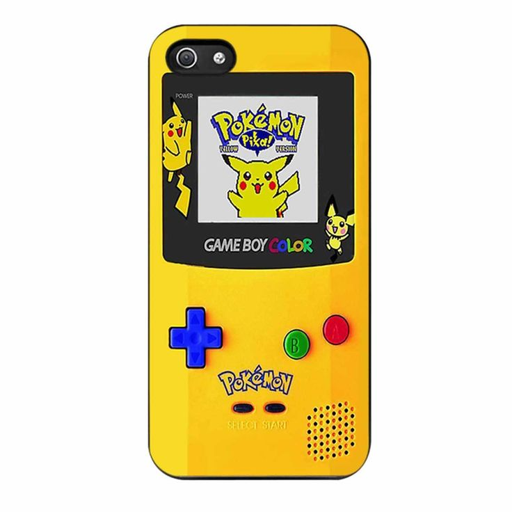Gameboy Color Pokemon Edition iPhone 5/5s Case