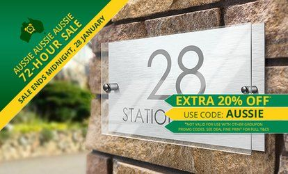 image for Personalised House Sign
